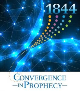 Picture of a portion of the front cover of 1844: Convergence in Prophecy